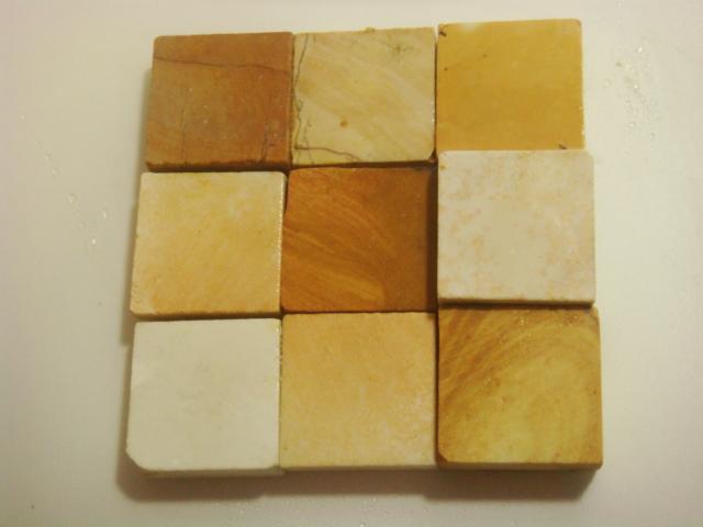 画像1: 天然砥石 伝統1200年 伊豫タイル砥石 4cm角