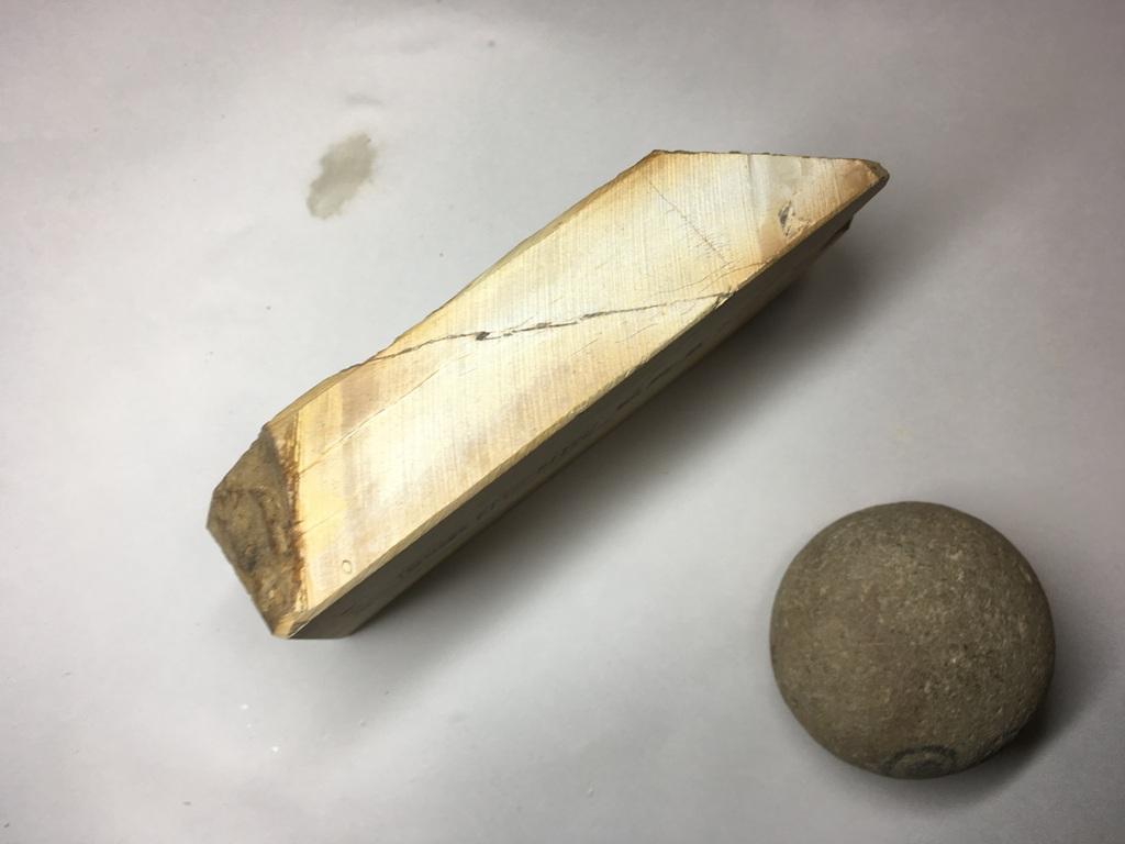 画像2: 天然砥石 正本山 山城銘砥奥殿 0.8Kg 10418