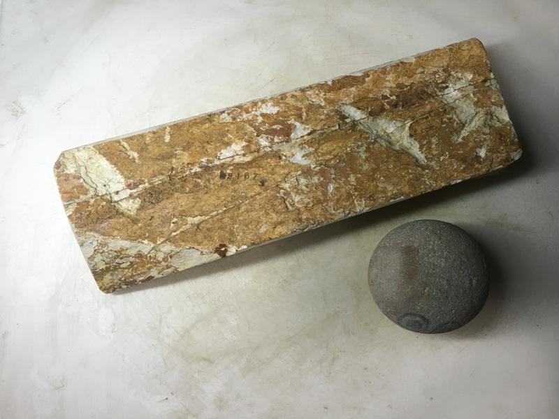 画像3: 天然砥石 正本山 山城銘砥奥殿本巣板泣ける八寸1.2Kg 9167