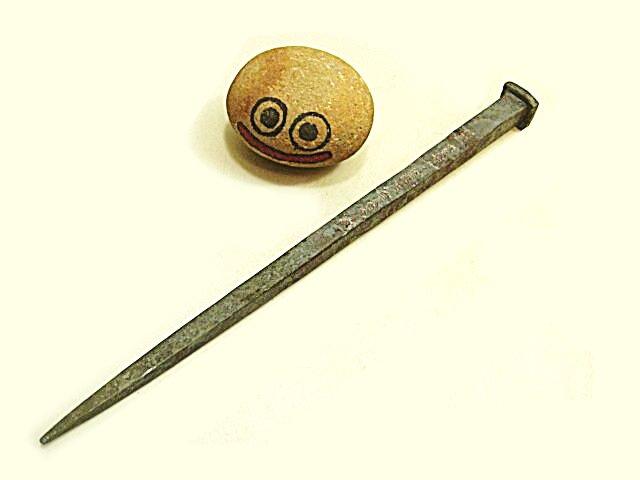 画像1: (取り扱い終了)白鷹先生の9寸SLMC材の1000年釘(取り扱い終了)