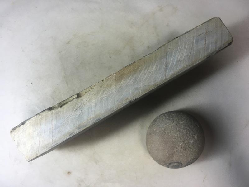 画像2: 天然砥石 山城銘砥 中世中山かからす 1.1Kg 10134