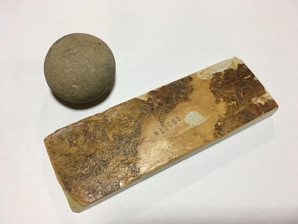 画像3: 天然砥石 奥殿本巣板上すなし 0.4Kg 11065