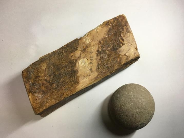 画像3: 天然砥石 正本山 山城銘砥奥殿巣板 1Kg 10414