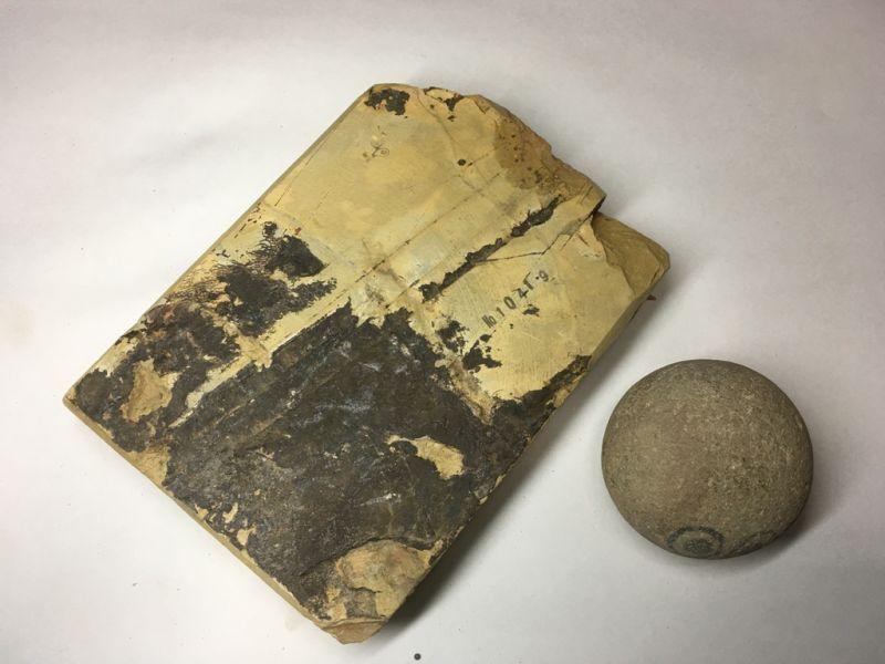 画像3: 天然砥石 正本山 山城銘砥奥殿 1.3Kg 10419