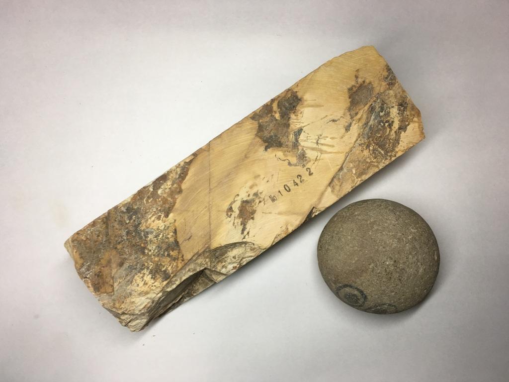 画像3: 天然砥石 正本山 山城銘砥奥殿 1.2Kg 10422