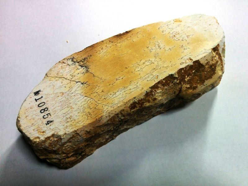 画像3: 伝統千五百年 天然砥石 古代伊豫銘砥  銘砥職キリ 1.1Kg 10854