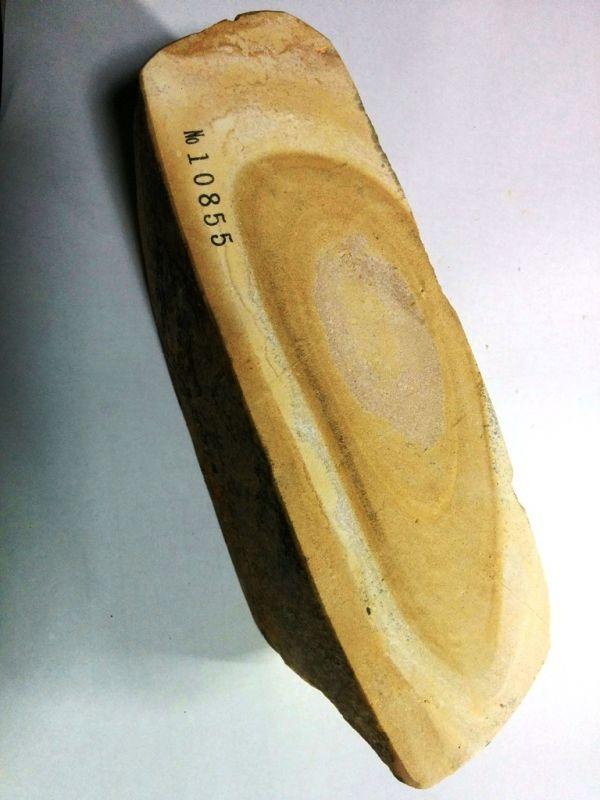 画像3: 伝統千五百年 天然砥石 古代伊豫銘砥  銘砥職キリ 1.5Kg 10855