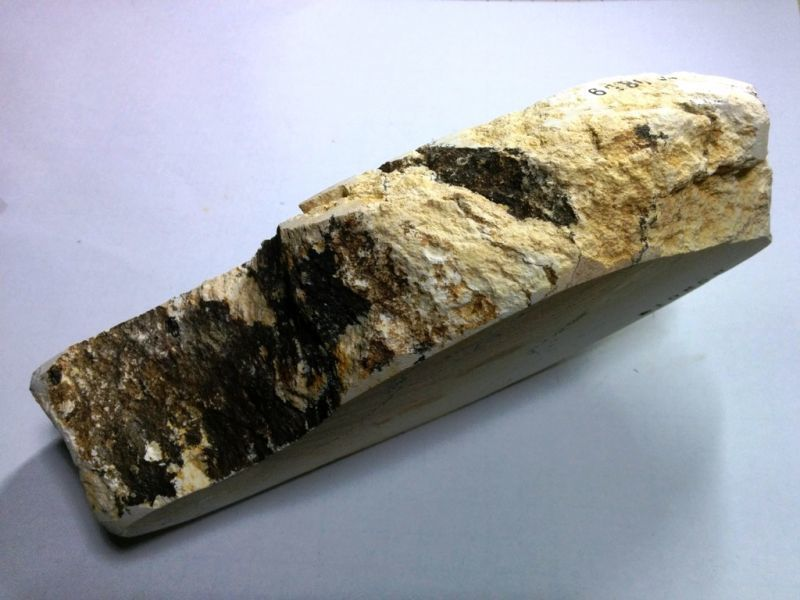 画像2: 伝統千五百年 天然砥石 古代伊豫銘砥  けばけばしい 1.5Kg 10859