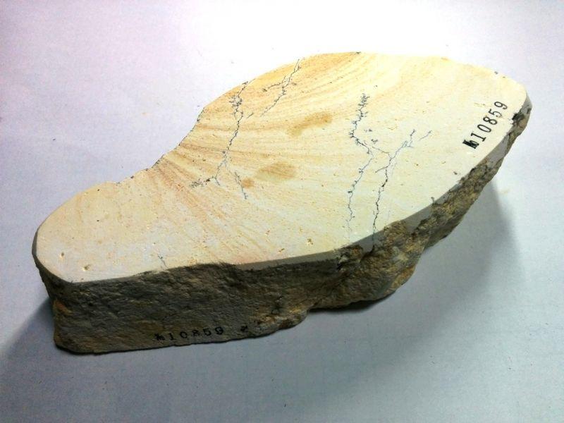 画像3: 伝統千五百年 天然砥石 古代伊豫銘砥  けばけばしい 1.5Kg 10859