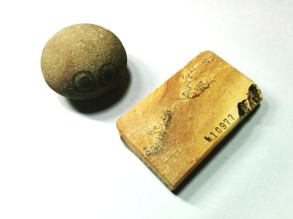 画像3: 伝統千五百年 天然砥石 古代伊豫銘砥  破片 0.2Kg 10977