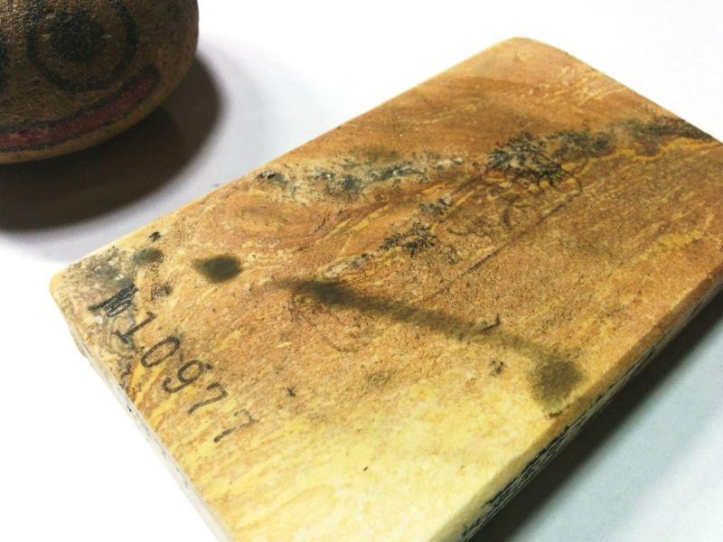 画像4: 伝統千五百年 天然砥石 古代伊豫銘砥  破片 0.2Kg 10977