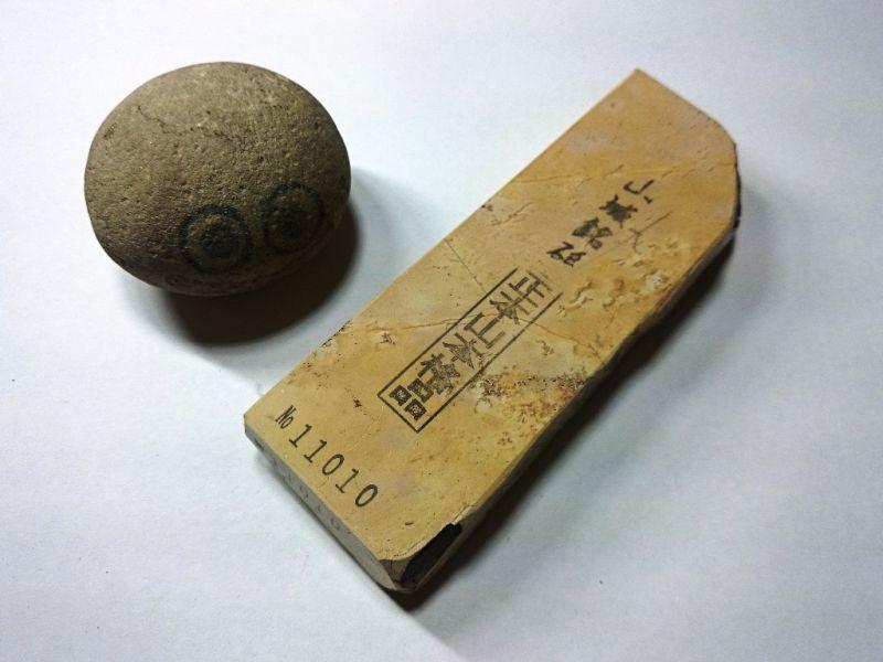 画像1: 天然砥石 奥殿本巣板すあり 0.3Kg 11010