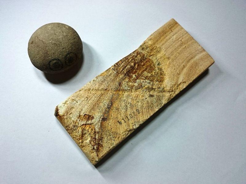 画像3: 伝統千五百年 天然砥石 古代伊豫銘砥  多孔 0.6Kg 11022