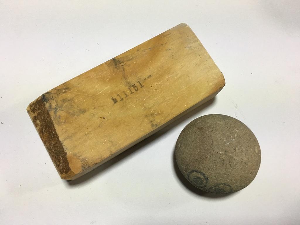画像3: 伝統千五百年 天然砥石 古代伊豫銘砥  ほけ木目大極上 0.7Kg 11151