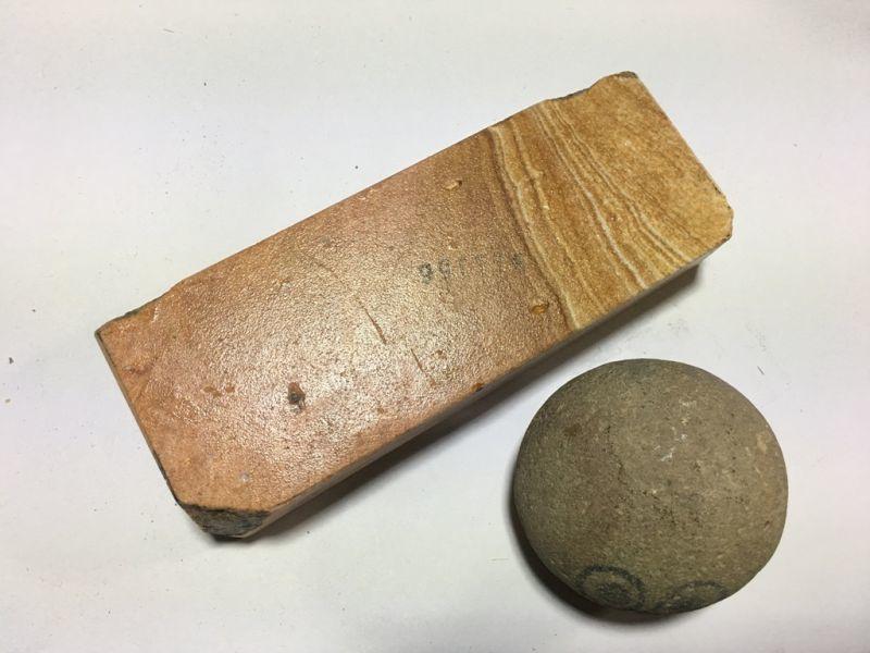 画像3: 伝統千五百年 天然砥石 古代伊豫銘砥  冴え木目大極上 0.5Kg 11156