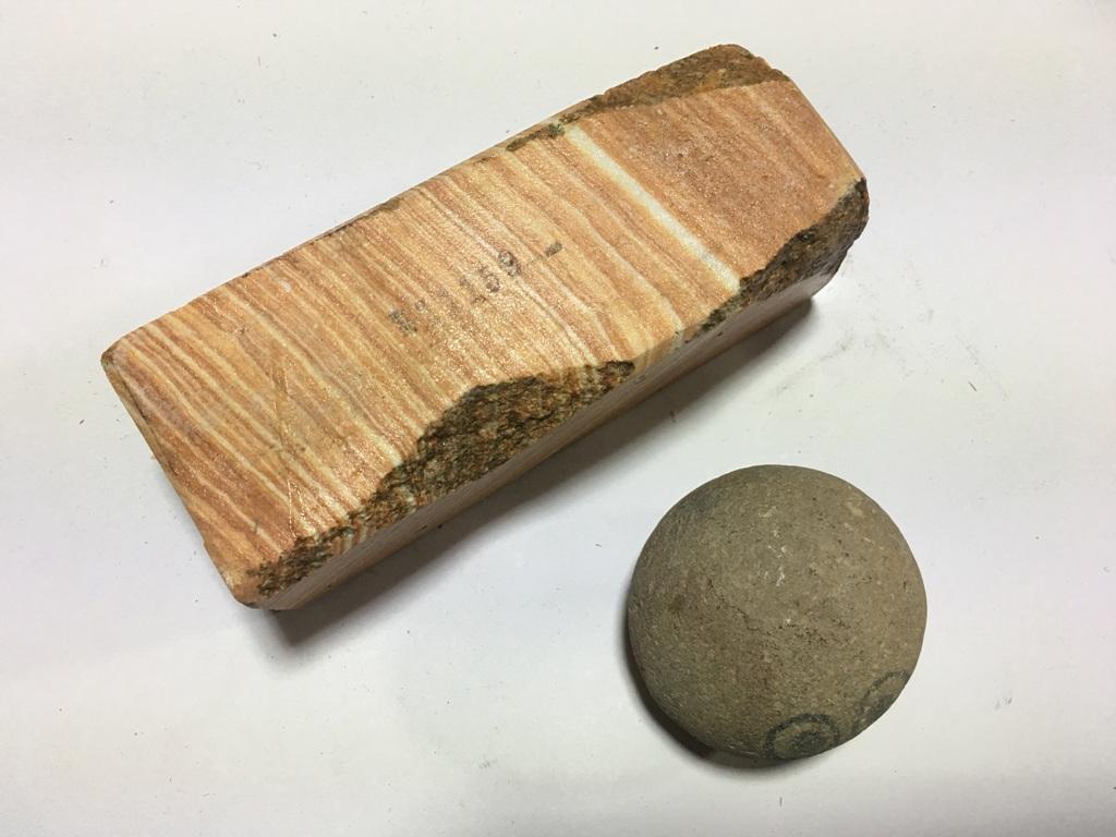 画像3: 伝統千五百年 天然砥石 古代伊豫銘砥   1Kg 11159