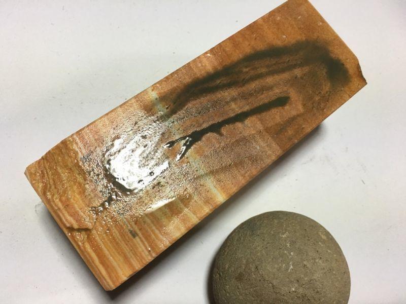 画像4: 伝統千五百年 天然砥石 古代伊豫銘砥   1Kg 11159