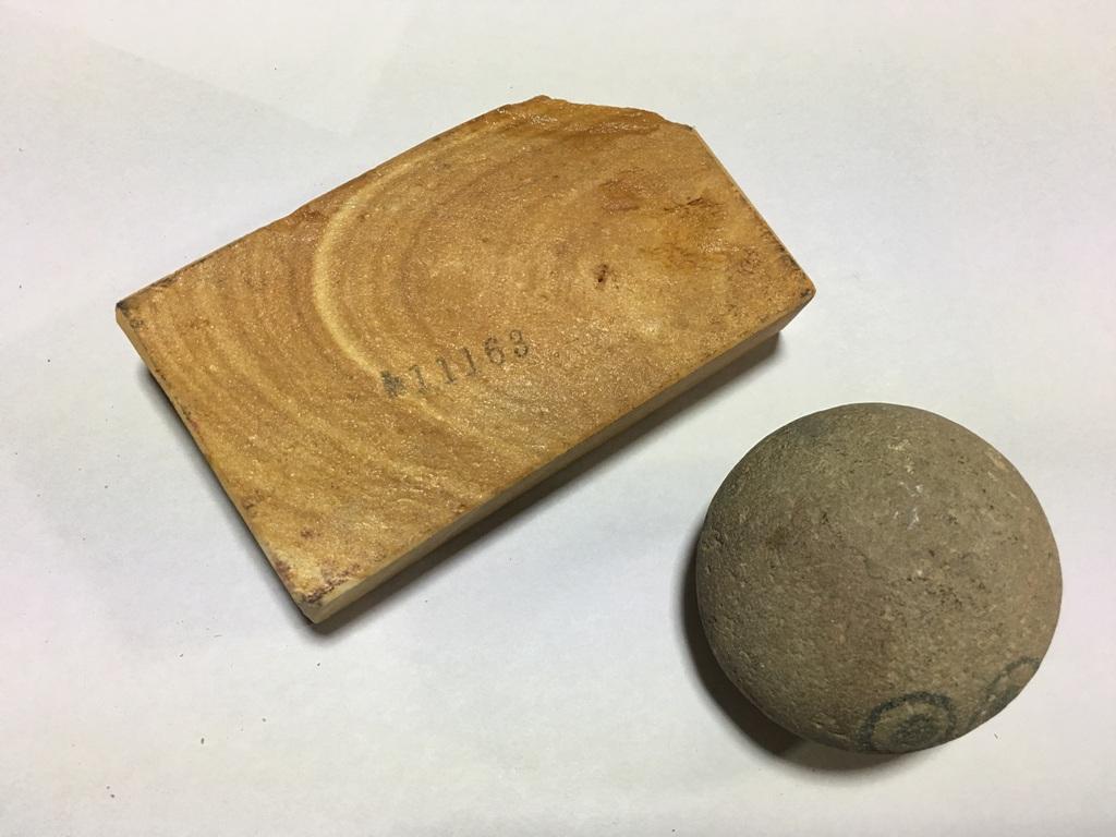 画像3: 伝統千五百年 天然砥石 古代伊豫銘砥   0.3Kg 11163