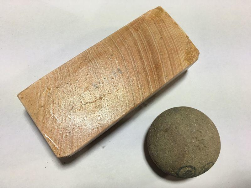 画像3: 伝統千五百年 天然砥石 古代伊豫銘砥  大極上 0.8Kg 11164