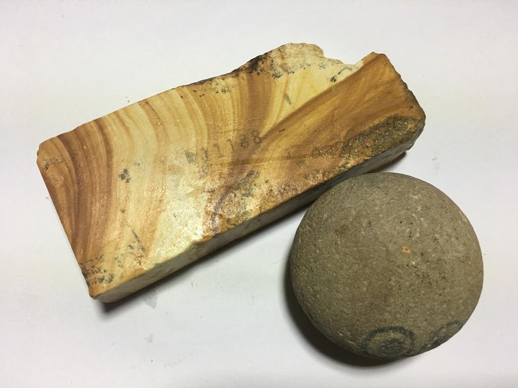 画像3: 伝統千五百年 天然砥石 古代伊豫銘砥  木目粘る上 0.3Kg 11188