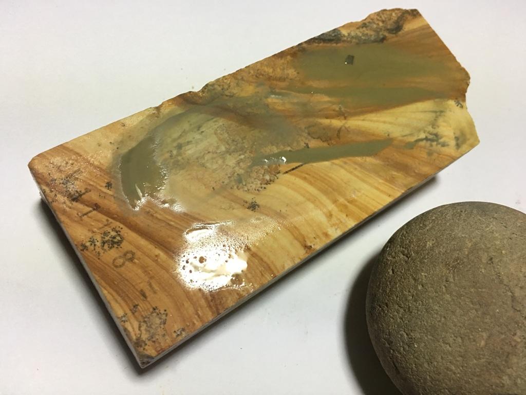 画像4: 伝統千五百年 天然砥石 古代伊豫銘砥  木目粘る上 0.3Kg 11188