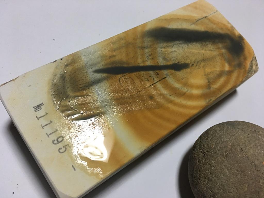 画像4: 伝統千五百年 天然砥石 古代伊豫銘砥  木目粘る上 0.8Kg 11195