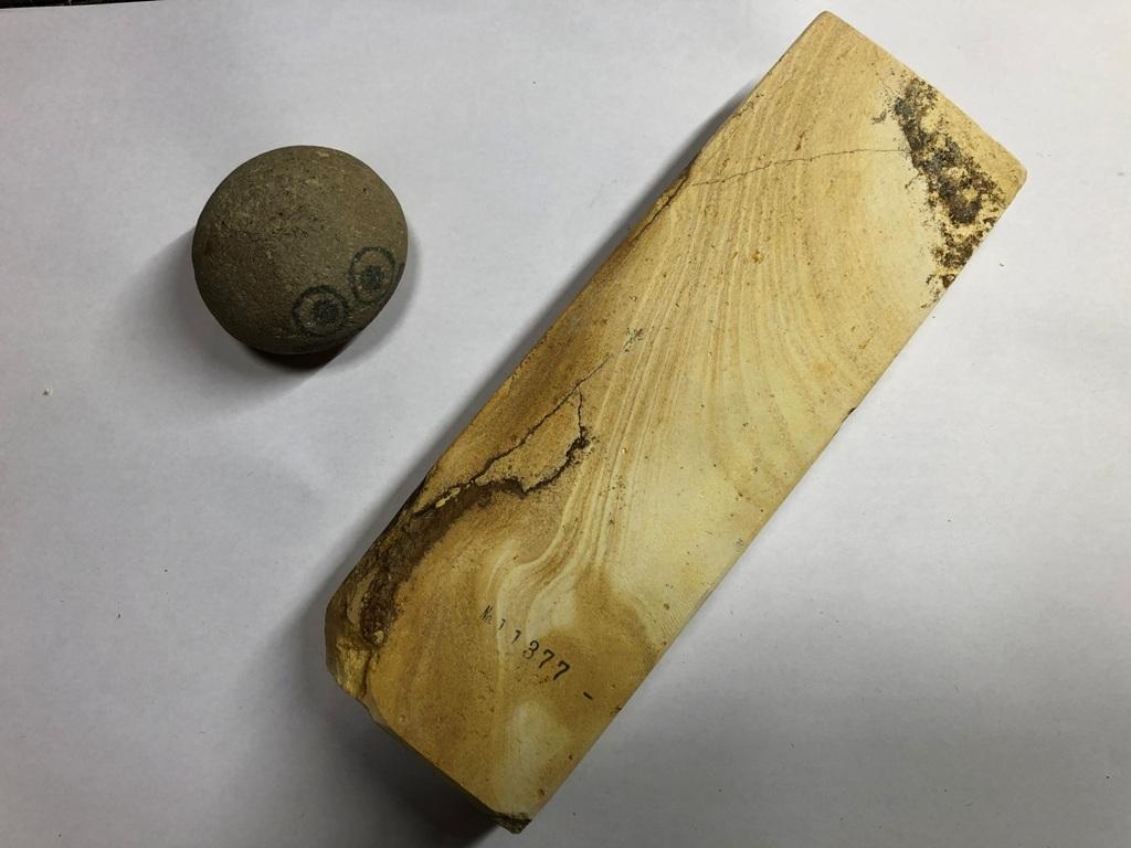 画像3: 伝統千五百年 天然砥石 古代伊豫銘砥 1,612g 11377