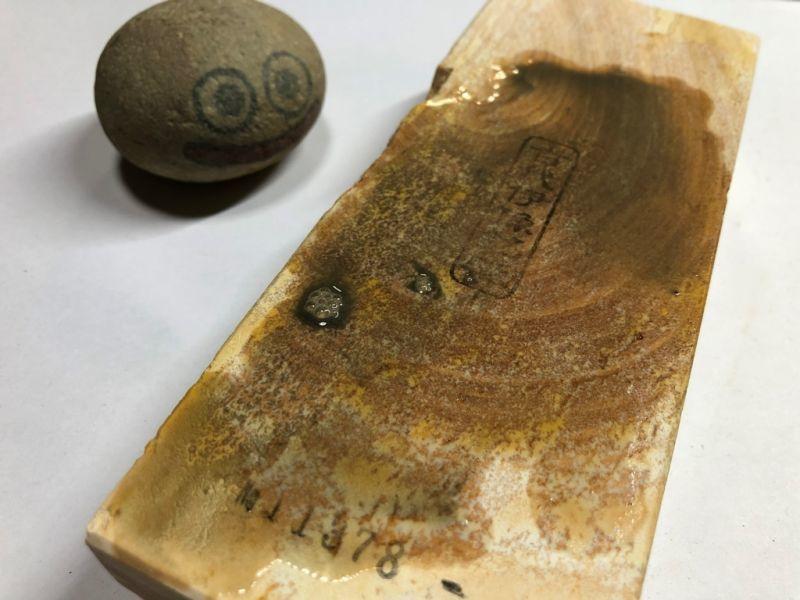 画像4: 伝統千五百年 天然砥石 古代伊豫銘砥 1,139g 11378