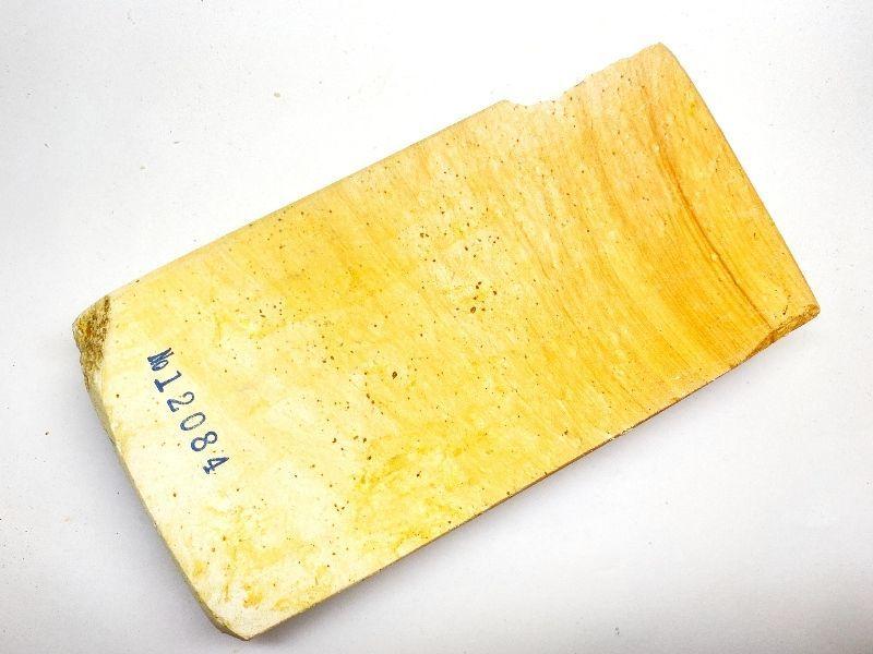 画像3: 伝統千五百年 天然砥石 古代伊豫銘 白 木目 赤星 餅もち大極上 721g 12084