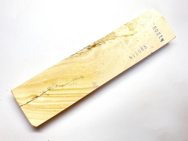 画像3: 伝統千五百年 天然砥石 古代伊豫銘 白 木目 餅もち大極上 490g 12085