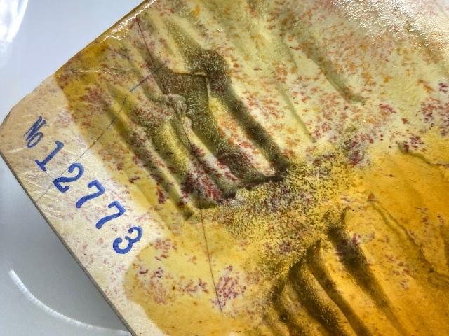 画像4: 天然砥石 正本山 山城銘砥菖蒲谷 本巣板準巣無蓮華巣板紅葉三十切八寸長々尺 大極上 1,952g 12773