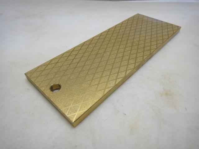 画像1: 二回研磨300/1000# チタンコートダイヤモンド砥石 精度±0.25mm