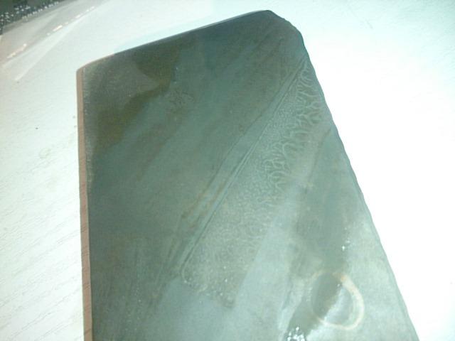 画像4: 天然砥石 伝説のおっさんのかたくて茶色い 丹波青砥 話のネタ用貸出機 (非買扱い)