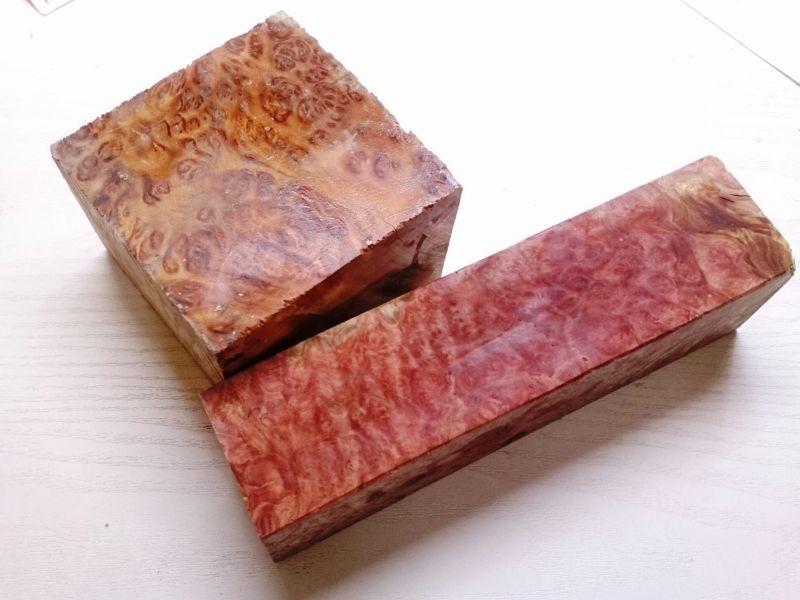 画像1: Australiaからの挑戦状 レッドマリ- (他在)こぶ 瘤 コブ バール 玉杢 鉋で削ってみよう