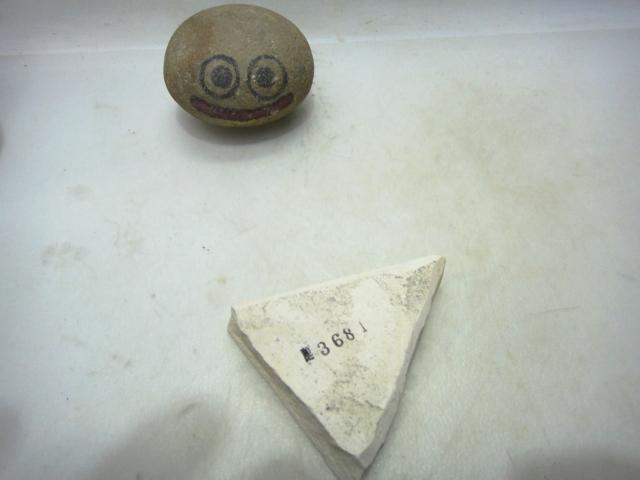 画像3: 天然砥石 三河白 ボタンの落ちの名倉 3681