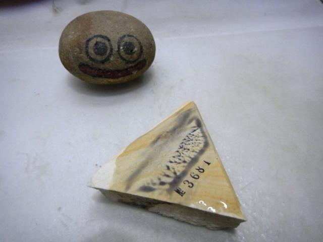 画像4: 天然砥石 三河白 ボタンの落ちの名倉 3681