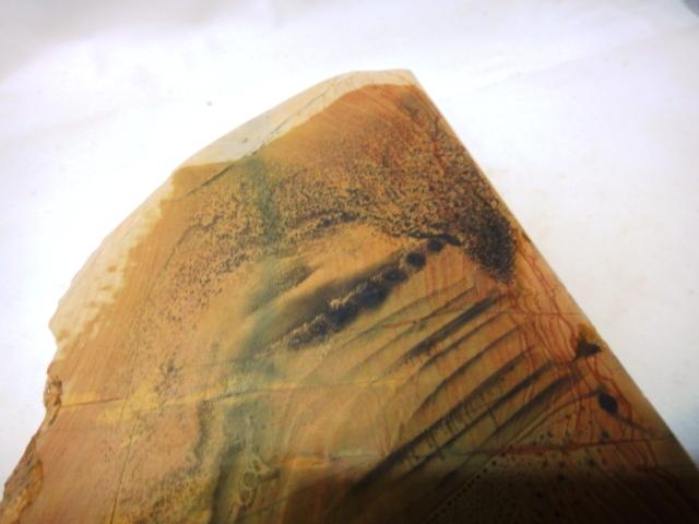 画像4: 天然砥石 山城銘砥 中世中山 神銘砥40とれ折りかね 4112