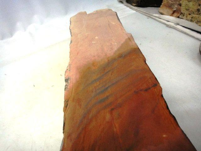 画像4: 天然砥石 山城銘砥 中世中山 戸前赤ピン尺三4.Kg超マグロ用のかたわれ 4509