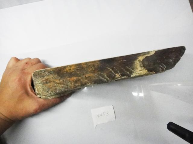 画像4: 天然砥石 山城銘砥 中世中山 最上級神様戸前黄板* 4553