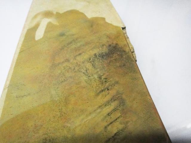 画像5: 天然砥石 山城銘砥 中世中山 最上級神様戸前黄板* 4553