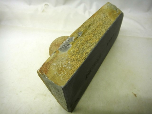 画像2: 天然砥石 山城銘砥 つけはだとおる典型やすり肌水浅黄 4601