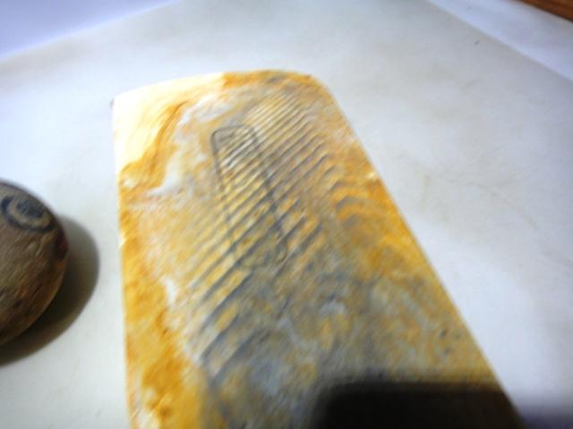 画像4: 天然砥石 古代伊豫銘砥 上級鉄食ミ銘砥長 5509