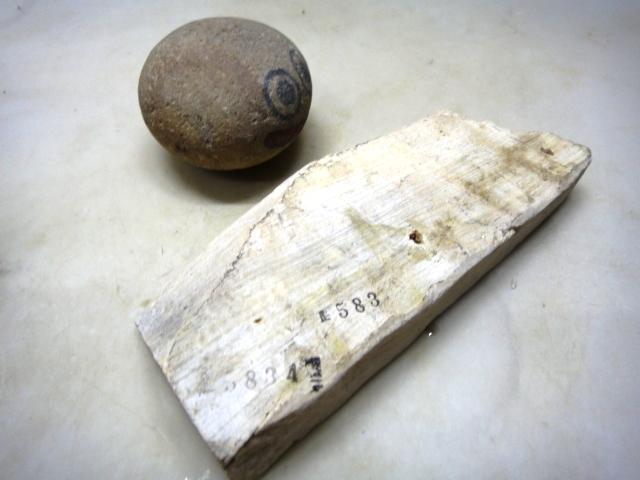画像3: 天然砥石三河白ぼたん 5834