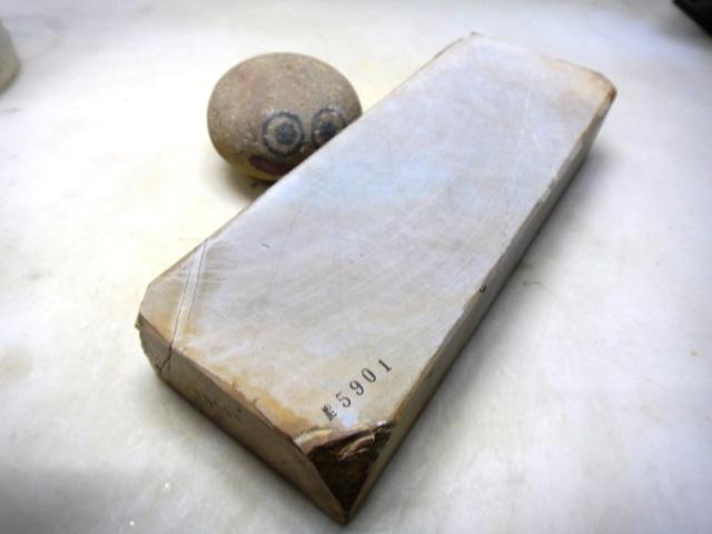 画像1: 天然砥石 東大平巣なし天井内曇巣板 5901