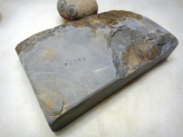 画像3: 天然砥石 青野 硬い青砥 5983