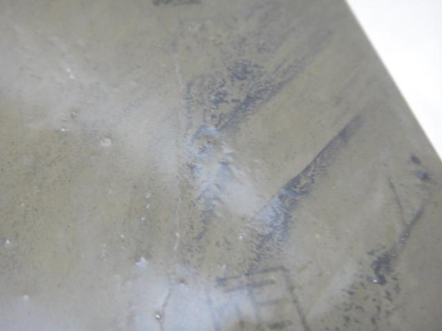 画像4: 天然砥石 山城銘砥 中世中山 挽き場下緑板かたい! 6232