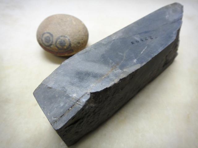 画像3: 天然砥石 青砥 しろごま 6422