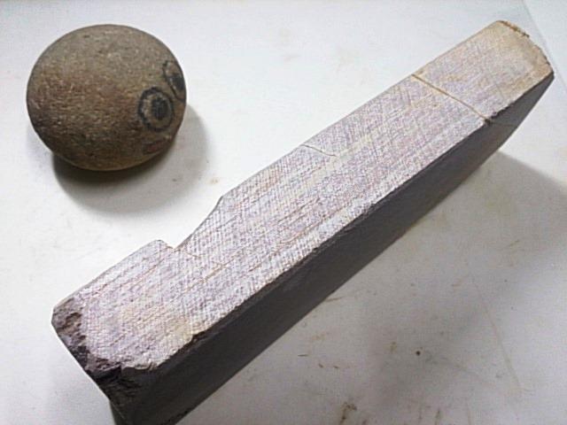 画像2: 天然砥石 東大平山蓮華巣板60巣なし 6878