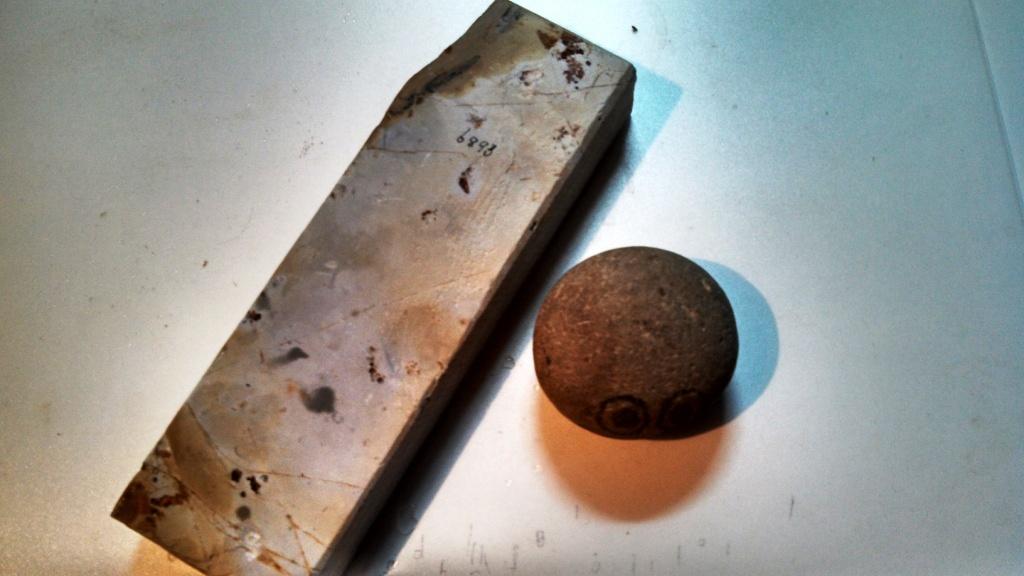 画像3: 天然砥石 大平山天井巣板硬い 6893