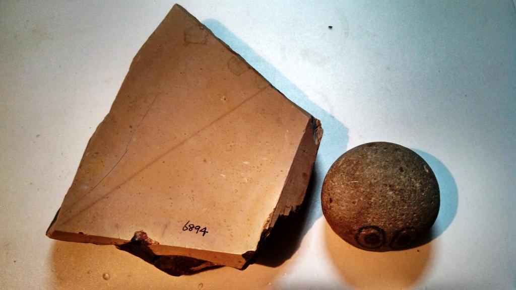 画像1: 天然砥石 ?砥石 6894